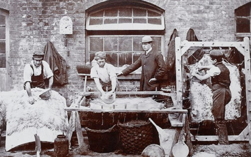 Leather merchant and tanners in Bermondsey