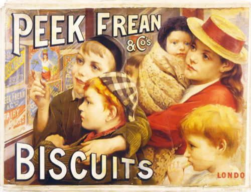 Peek Frean biscuit (cookie) ad of the times