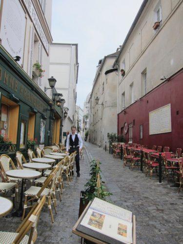 The Franc Buveur today, now the Auberge de La Bonne Franquette