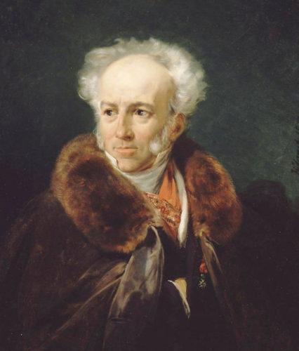 """Portrait of Jean-Baptiste Isabey"" by Horace Vernet, 1828"