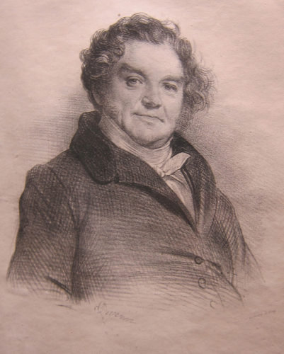 The real Eugène Vidocq, (1775-1857), thief, forger, founder of the Sûreté and arguably the first private detective