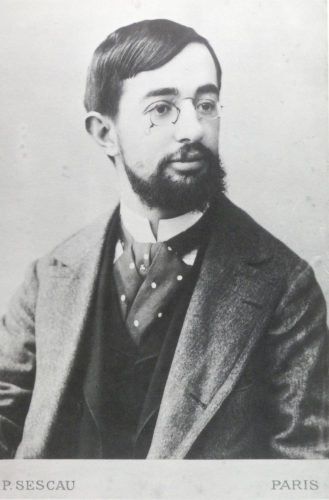 Henri Toulouse Lautrec at the time of this story, photo by his friend, Paul Sescau