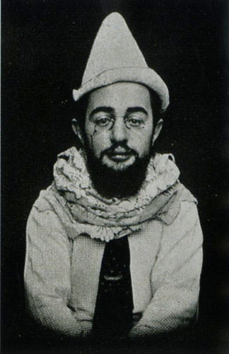 Lautrec in one of his many costumes
