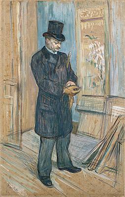 Dr. Henri Bourges by Henri de Toulouse-Lautrec, 1891